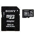 Sony Micro 16GB SD Adapter - 19.99