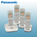Panasonic 4-Handset Phone System