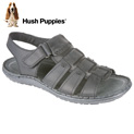 Hush Puppies Open-Toe Sandals - Black