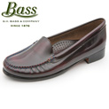 bass-womens-madison-loafers---red