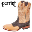 ferrini-bison-boots---antique-saddle