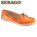 Sebago Fayette Shoes - Orange