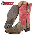 Rocky Handhewn Western Boot - 88.88