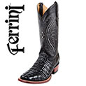 Ferrini Tail-Cut Caiman Boots - 255.54