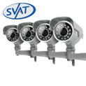 4 Hi-Res Night Vision Cams