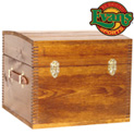 Half Trunk with Leather Handles