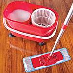 Pullman-Holt Pro Spin Flat Mop System