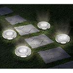 Ideaworks Solar Lights - 4 Pack