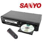 Sanyo - DVD/VCR Combo