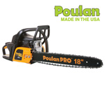 Poulan Gas Chainsaw - 18 inch