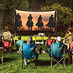 Backyard Theater Systems Outdoor Theater