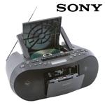 Sony Stereo/CD/Cassette Boombox