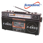 SuperSonic Radio/Cassete Player