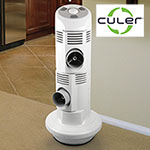 CULER Duet Doublt ePort Flash Evaporative Air Cooler