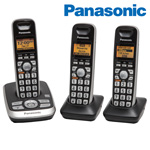 Panasonic 3-Handset Phone System