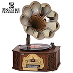 Wooden Gramophone System