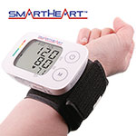 SmartHeart Wrist Blood Pressure Monitor