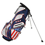 USA Flag Golf Stand Bag