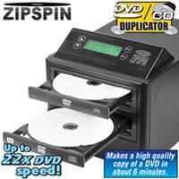 Zip Spin DVD Duplicator