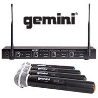 Gemini Wireless Microphone System