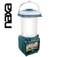 Naxa Utility Lantern with TV