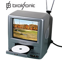Broksonic TV/DVD Player