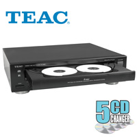 TEAC 5-disc CD Changer