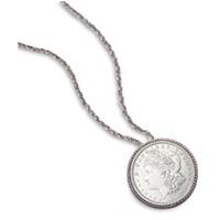 Morgan Silver Dollar Pin/Pendant
