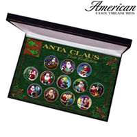 Santa Clause Coin Collection