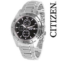 Citizen Silver Chrono Watch