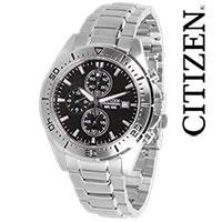 Citizen Silver Chrono Watch