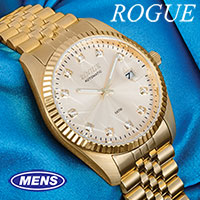 Rogue 11-Diamond Gold Watch