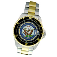 Navy Dress Watch