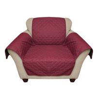 Burgundy Reverse Chair Cover