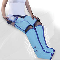 Air Compression Leg and Foot Wrap