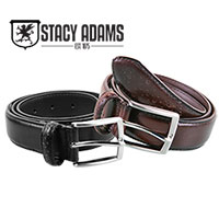 Stacy Adams Wingtop Belt
