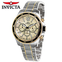 Invicta Two-Tone Mens Watch