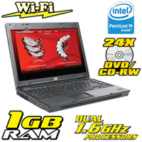 HP Duo Core PC With Fingerprint Security
