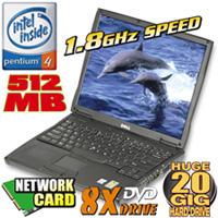 Dell Pentium 4 Notebook Computer