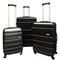 Amka Hardside 3-Piece Luggage Set