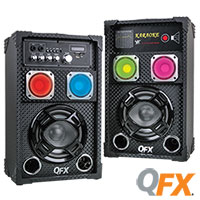 QFX Bluetooth Speakers