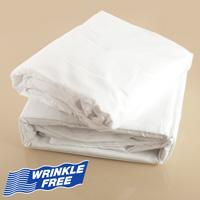 White Microfiber Sheet Set - Twin