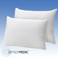 Memory Foam Pillow Pair - Queen
