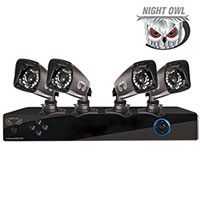 Night Owl 4 Camera DVR Security System