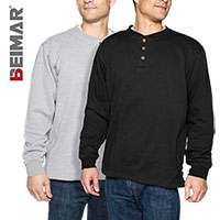 Fleece Henleys - 2 Pack