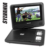 Sylvania Portable DVD Player Bundle