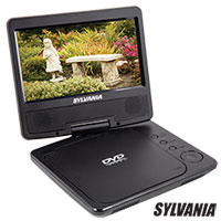 Sylvania 7IN Swivel Portable DVD Player