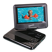 "7"" Portable DVD Player and Digital TV"
