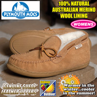 Plymouth Mocs Womens Chukka Slippers