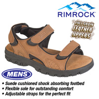 Brown Leather Strap Sandal